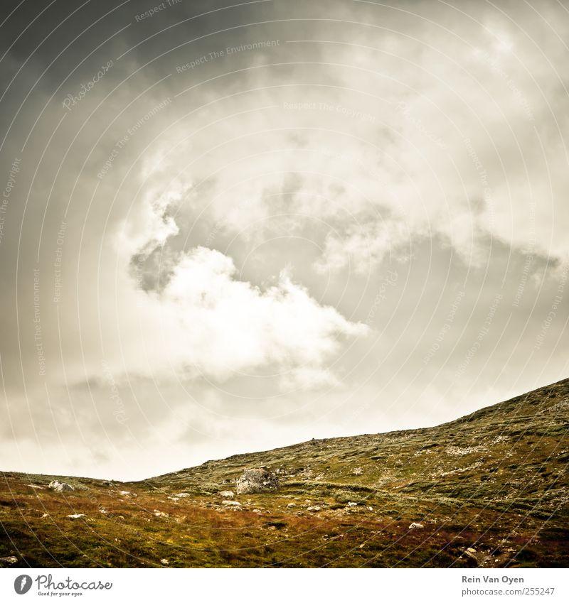Himmel Natur schön Ferien & Urlaub & Reisen Wolken Einsamkeit Umwelt Landschaft träumen Stimmung Horizont Hügel rein Gelassenheit