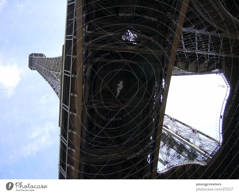 Eifelturm Architektur Paris Frankreich Tour d'Eiffel