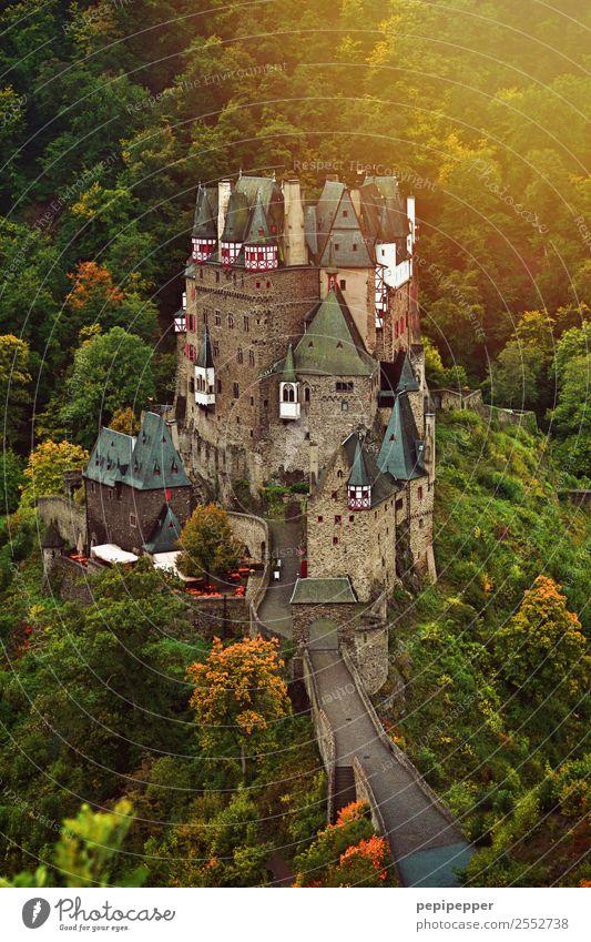 Burg Eltz Ferien & Urlaub & Reisen Tourismus Abenteuer Häusliches Leben Natur Landschaft Sonnenaufgang Sonnenuntergang Blume Wald Hügel Berge u. Gebirge Haus