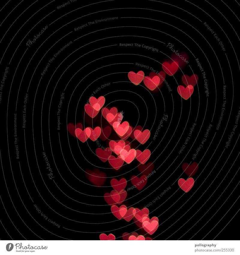 Für dich solls rote Herzen regnen Zeichen Kitsch Gefühle Stimmung Glück Lebensfreude Leidenschaft Sympathie Freundschaft Zusammensein Liebe Verliebtheit Treue