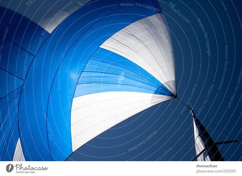 Für dich solls bunte Bilder regnen! Himmel blau weiß Ferien & Urlaub & Reisen Sonne Meer Sommer Freude Ferne Freiheit Wege & Pfade Horizont Wind fliegen groß