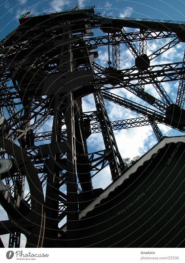 Gold Rush Himmel Technik & Technologie Turm Stahl Baugerüst Südafrika Elektrisches Gerät Förderturm