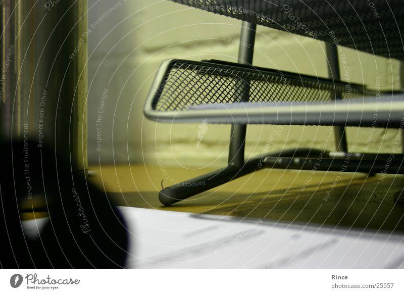 Schroff Wand Büro Business Schreibtisch Aluminium Gitter Gestell