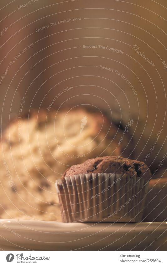 muffin braun Ernährung süß weich Kochen & Garen & Backen genießen trocken Appetit & Hunger Frühstück lecker Kuchen Teller Duft Bioprodukte Schokolade Backwaren