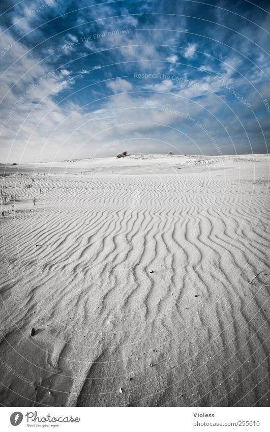 Spiekeroog   ... remember last april Natur Landschaft Sand Luft Himmel Wolken Küste Strand Nordsee Meer Insel entdecken Erholung Ferien & Urlaub & Reisen blau