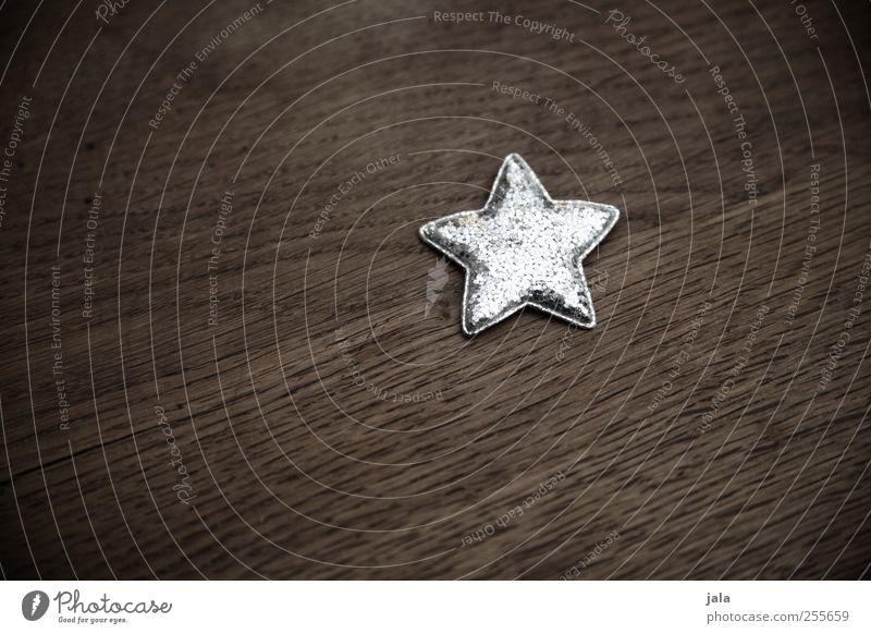 stern Weihnachten & Advent schön klein braun glänzend ästhetisch Stern (Symbol) Dekoration & Verzierung Kitsch silber Weihnachtsdekoration Weihnachtsstern Krimskrams