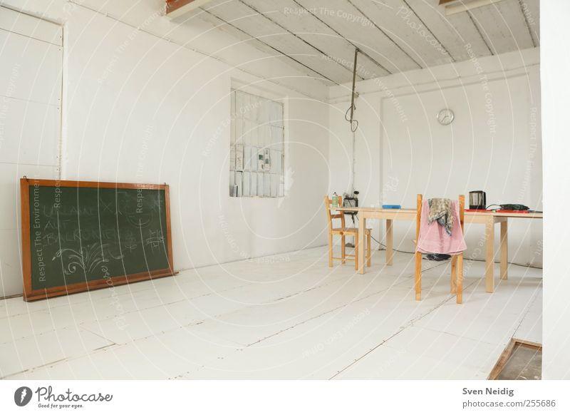 White Studio weiß grün ruhig braun Schilder & Markierungen Uhr einfach Inspiration