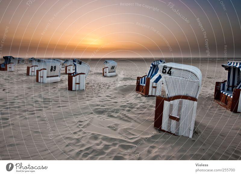 Spiekeroog | ...the evening draws near Sand Himmel Sonnenaufgang Sonnenuntergang Sonnenlicht Schönes Wetter Küste Nordsee Meer Insel Erholung