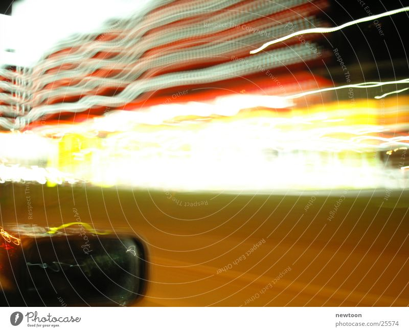 LifeIsShort Geschwindigkeit Langzeitbelichtung Leben Licht PKW Straße