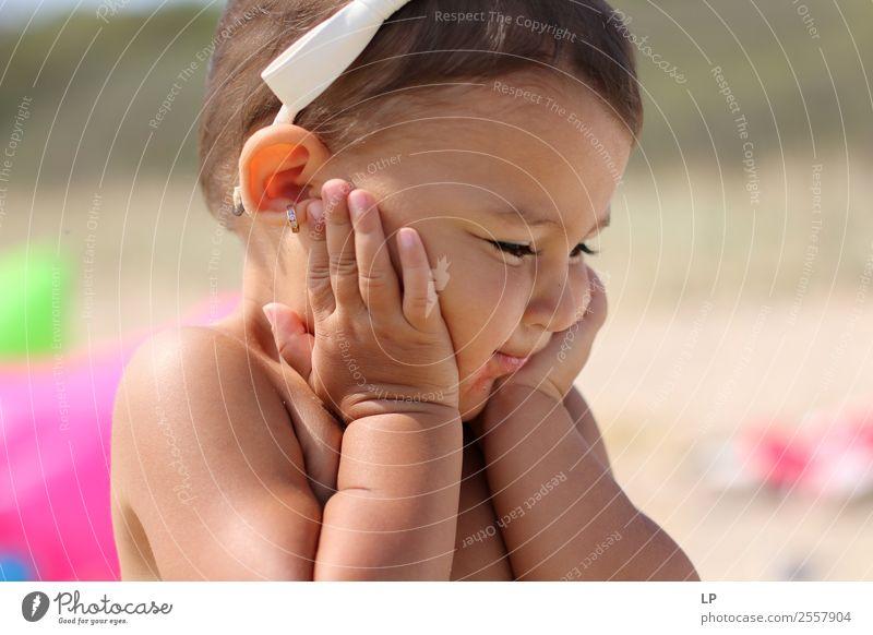 Ich fühle mich preety Lifestyle Freude schön Haare & Frisuren harmonisch Wohlgefühl Zufriedenheit Sinnesorgane Erholung ruhig Mensch Kind Baby Eltern Erwachsene