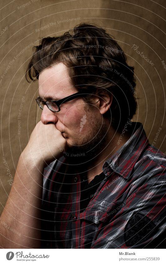 leiden für fortgeschrittene II Mensch Jugendliche dunkel Denken Angst maskulin trist Konflikt & Streit Stress 13-18 Jahre Verzweiflung Nervosität verstört