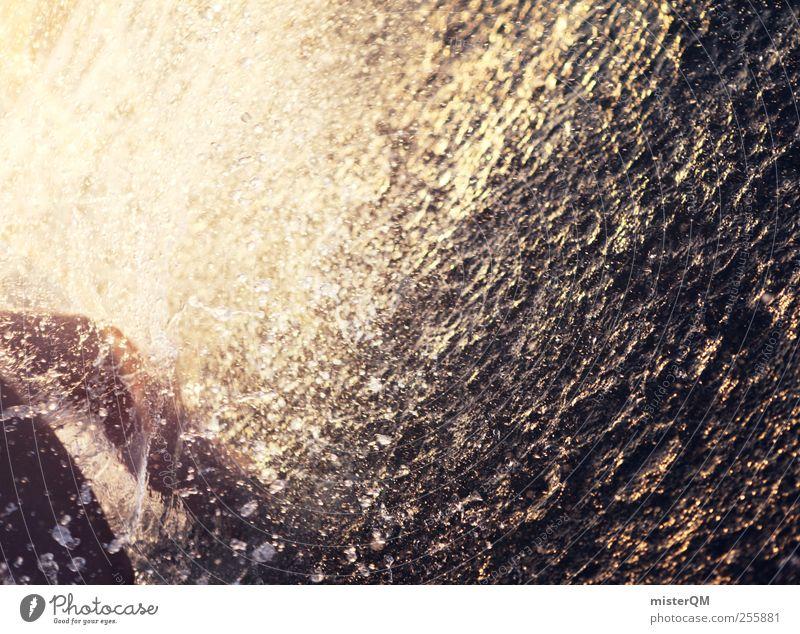 Platsch-Quatsch VIII Kunst ästhetisch Sommer Sommerurlaub Sommertag Sommerferien Wassertropfen Meerwasser spritzen Wellen Ferien & Urlaub & Reisen
