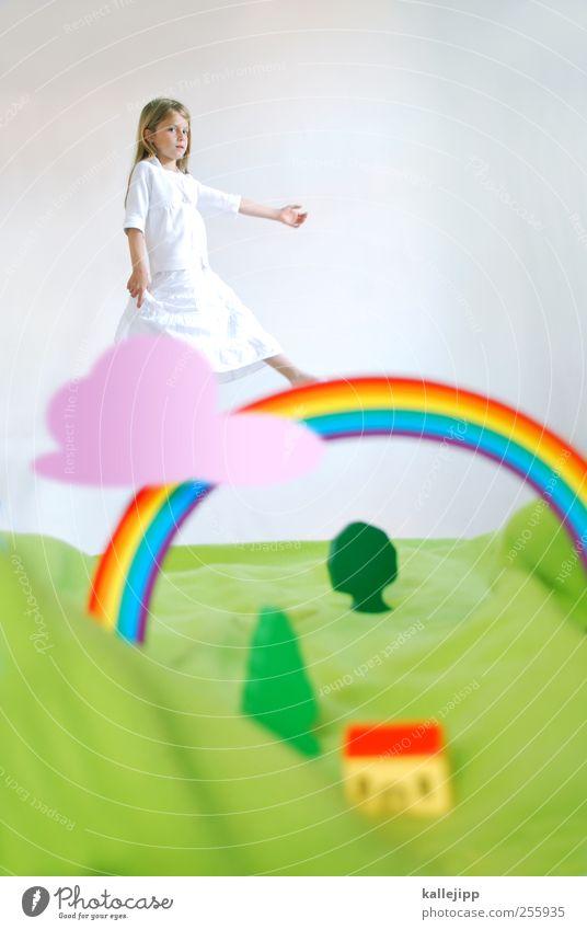 5. türchen Mensch Mädchen Kindheit Leben 1 Umwelt Natur Landschaft Pflanze Tier Luft Wasser Wassertropfen Himmel Wolken Sommer Wetter Baum Gras Wiese Hügel Haus