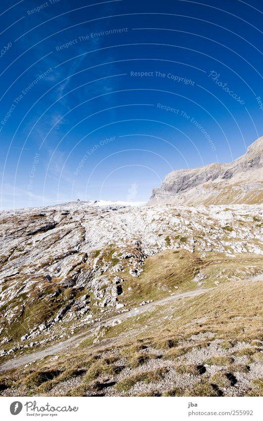 schneeloser Glacier I Sommer Erholung Landschaft ruhig Berge u. Gebirge Herbst Gras natürlich Wege & Pfade Freiheit Felsen Zufriedenheit wild authentisch wandern Ausflug