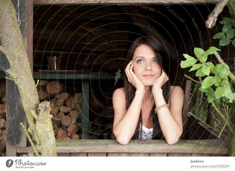 #256024 Frau Mensch schön Pflanze Ferien & Urlaub & Reisen Blatt Erwachsene Gesicht Erholung Garten Wärme Denken träumen Zufriedenheit Freizeit & Hobby natürlich