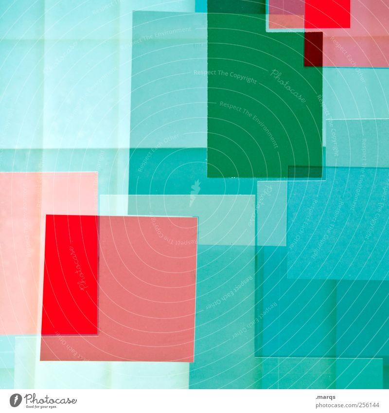 [ ] blau grün rot Farbe Stil Kunst Hintergrundbild elegant Design außergewöhnlich Lifestyle Coolness Dekoration & Verzierung einzigartig Grafik u. Illustration Kreativität