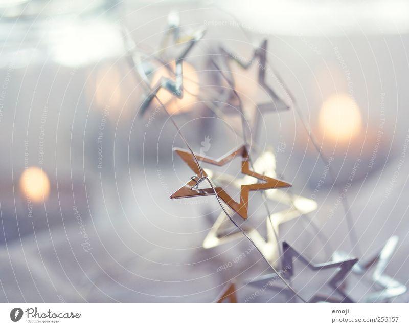 Teelichter basteln Dekoration & Verzierung Kerze Kitsch Krimskrams Zeichen hell kalt Kerzenschein Weihnachten & Advent Stern (Symbol) Farbfoto Gedeckte Farben