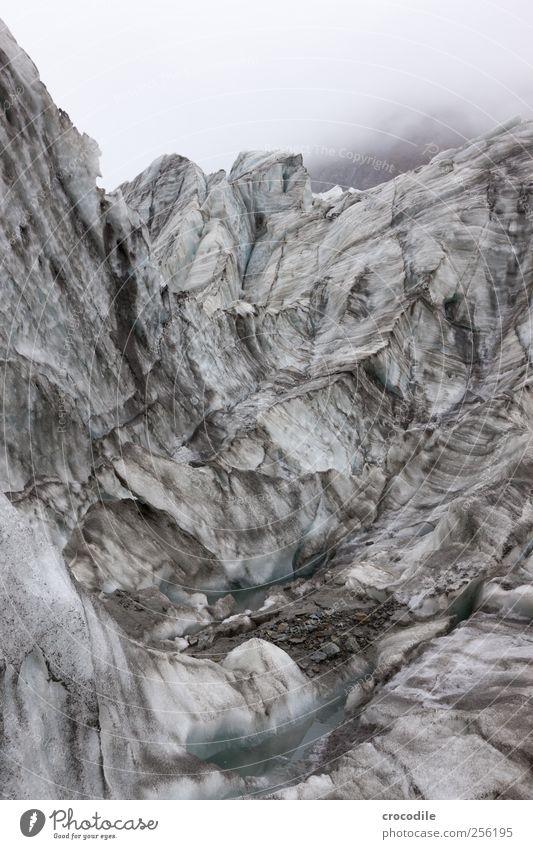 New Zealand 167 Natur Schnee Umwelt Bewegung Stein Eis Kraft dreckig ästhetisch Klima authentisch außergewöhnlich bedrohlich Frost Respekt Gletscher