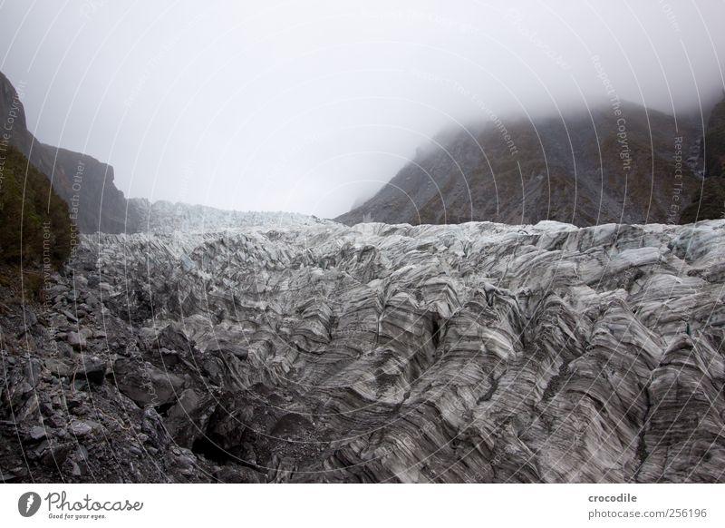 New Zealand 168 Umwelt Natur Klima Klimawandel schlechtes Wetter Eis Frost Schnee Gletscher Bewegung ästhetisch authentisch außergewöhnlich bedrohlich Kraft