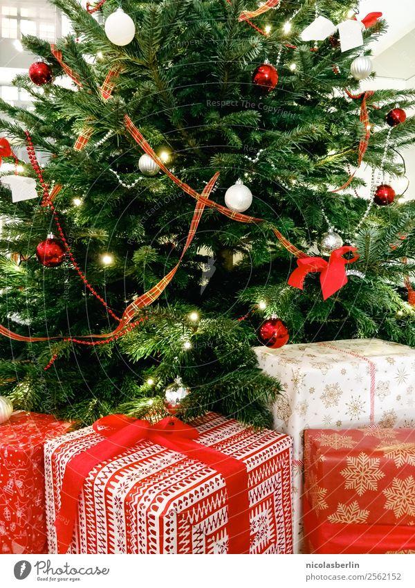 Weihnachtsgeschenke für die Familie (III) Weihnachten & Advent schön rot ruhig Freude Liebe Glück Feste & Feiern Häusliches Leben Wohnung elegant Fröhlichkeit