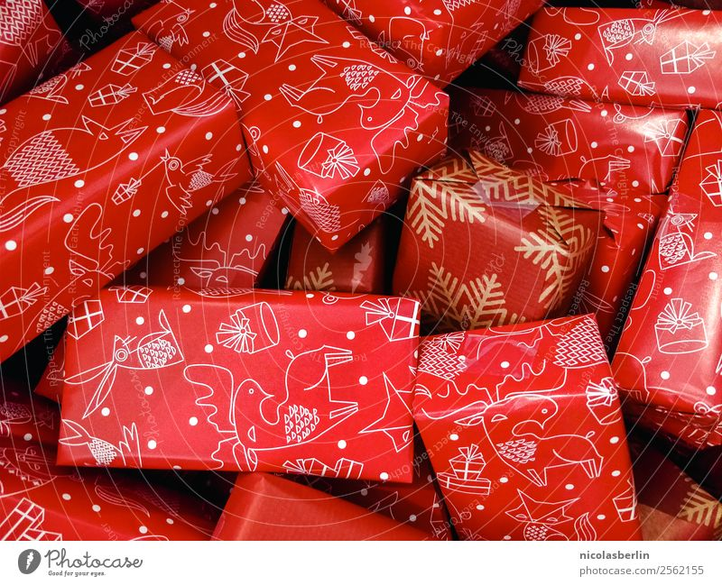 Weihnachtsgeschenke für die Familie (IV) Weihnachten & Advent schön rot Freude Wärme Liebe Glück Feste & Feiern Zusammensein Freundschaft Kindheit Geburtstag