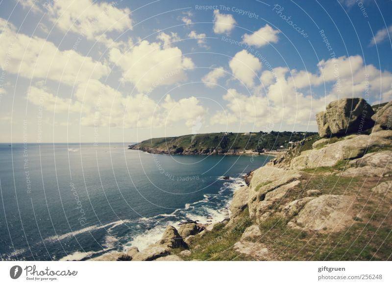 just another perfect day Himmel Natur Wasser Meer Sommer Wolken Ferne Umwelt Landschaft Küste Stein Wellen Horizont Erde Felsen natürlich