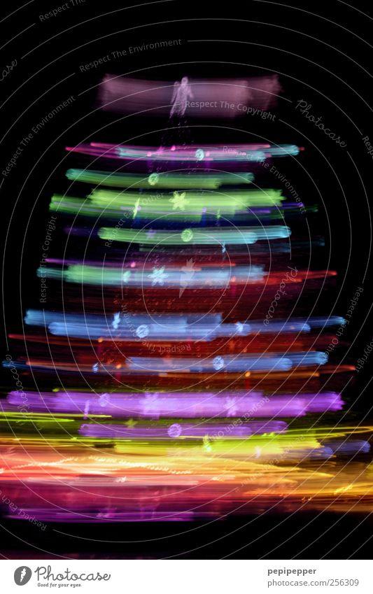 XXL-Baum Weihnachten & Advent Baum Graffiti Zeichen Veranstaltung Weihnachtsbaum Stadtzentrum Sehenswürdigkeit abstrakt Grafik u. Illustration Weihnachtsdekoration Reflexion & Spiegelung Licht