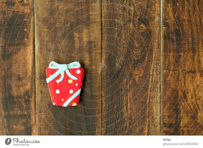 Weihnachten & Advent blau rot Winter Holz Feste & Feiern braun Dekoration & Verzierung Tisch Geschenk Schnur Kräuter & Gewürze lecker Jahreszeiten Tradition