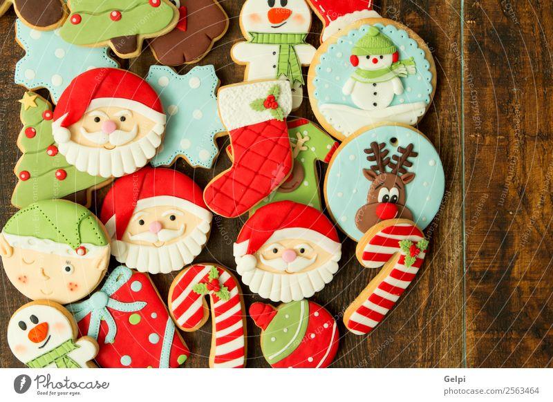 Weihnachten & Advent Baum Winter Holz Feste & Feiern braun Dekoration & Verzierung Tisch Geschenk lecker Jahreszeiten Tradition Dessert Backwaren