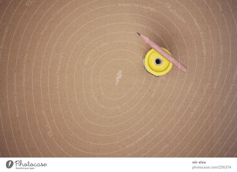 Skizze gelb Architektur Hintergrundbild Holz braun Arbeit & Erwerbstätigkeit Kreativität Studium Idee planen Baustelle zeichnen Stillleben Arbeitsplatz Künstler