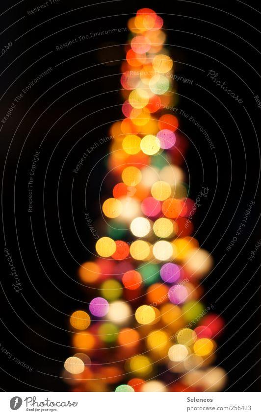 Glitzerbaum Weihnachten & Advent Baum Feste & Feiern glänzend Fröhlichkeit verrückt rund Kitsch Kugel trashig Nachtleben
