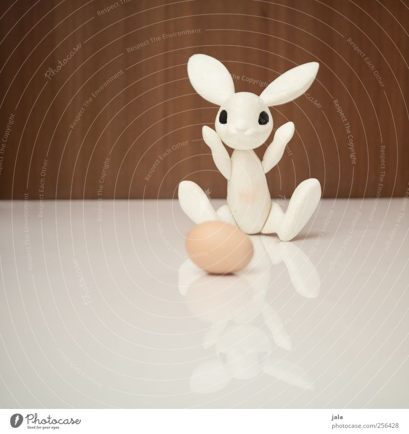 ei, ei, ei... Ei Tier Hase & Kaninchen Dekoration & Verzierung Kitsch Krimskrams Spielzeug Figur Ostern Osterhase eier legen Freude Zauberer Farbfoto