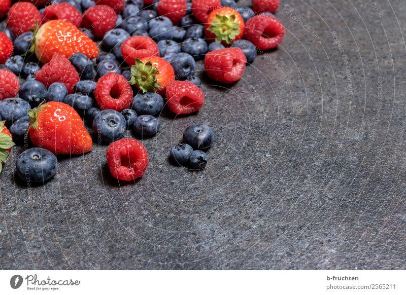 Leckere Naschbeeren Lebensmittel Frucht Bioprodukte Vegetarische Ernährung Slowfood Fingerfood Gesunde Ernährung Stein wählen Essen frisch Gesundheit genießen