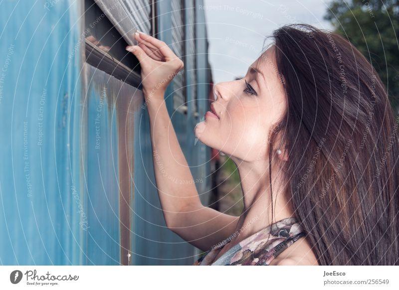 #256549 Frau Mensch Hand schön Ferien & Urlaub & Reisen Erwachsene Gesicht Leben natürlich Autofenster modern Finger beobachten Neugier Freundlichkeit