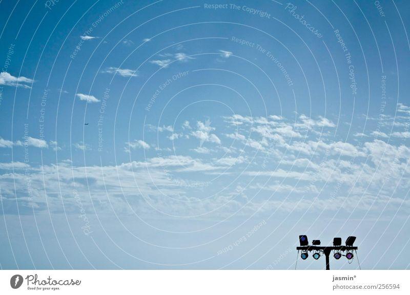 Open Air Himmel blau Sonne Wolken Luft Schönes Wetter nur Himmel