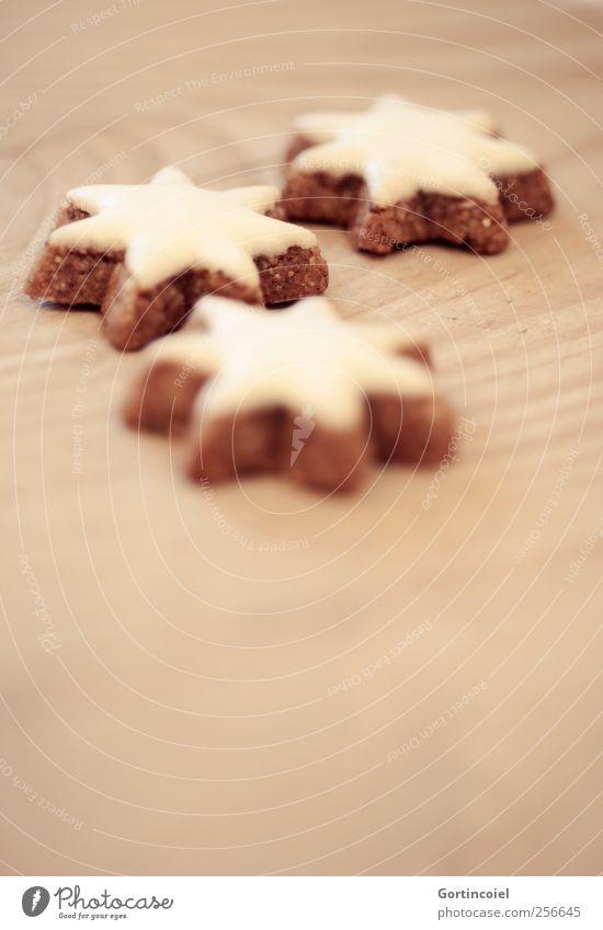 Zimtsterne Weihnachten & Advent Ernährung Lebensmittel süß Kochen & Garen & Backen Süßwaren lecker Backwaren Plätzchen Weihnachtsgebäck Zimt Kaffeetrinken Zimtstern Foodfotografie