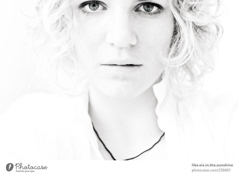 unschulds-engel Mensch Frau Jugendliche schön Gesicht Erwachsene Auge Leben feminin Kopf Haare & Frisuren glänzend Mund Nase 18-30 Jahre Junge Frau