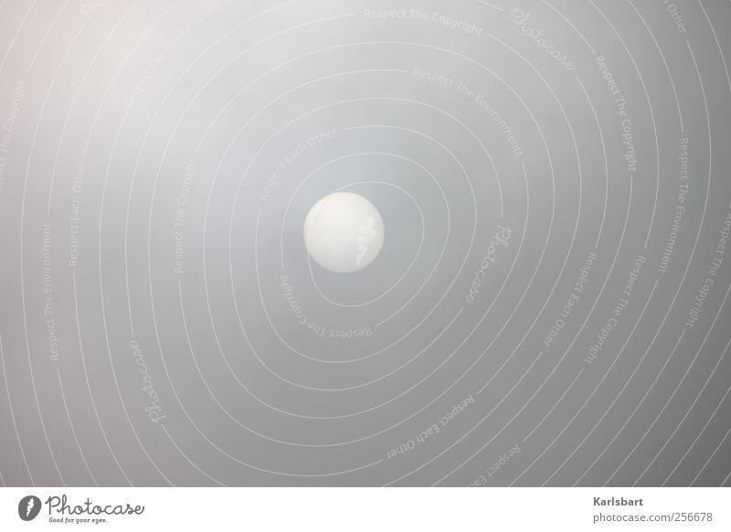 Die Sonne spielt Mond. Himmel Natur Winter Wolken Herbst dunkel Umwelt grau Bewegung Wetter Wind Nebel Klima Zukunft Wandel & Veränderung