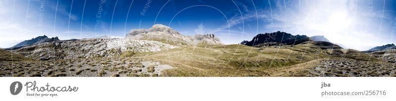 Sanetschpass 380° Natur Ferien & Urlaub & Reisen Sommer Landschaft Berge u. Gebirge Herbst Gras Freiheit Stein Felsen Zufriedenheit authentisch Ausflug