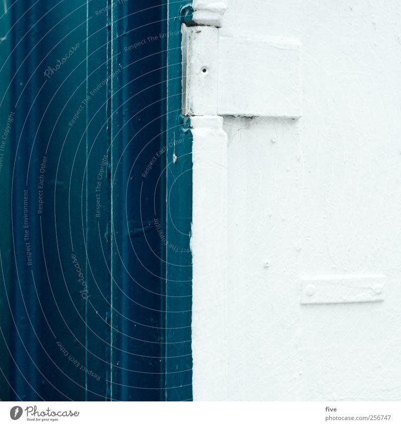 vienna Ferien & Urlaub & Reisen Tourismus Ausflug Stadt Stadtrand Haus Mauer Wand Tür kalt Wien Kontrast weiß Linie Farbstoff Farbfoto Außenaufnahme