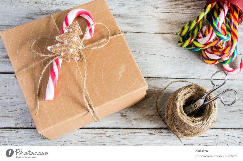 Verpacktes Weihnachtsgeschenk Design Winter Dekoration & Verzierung Feste & Feiern Weihnachten & Advent Rudel Papier Spielzeug Verpackung Paket Container