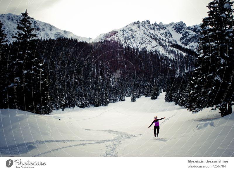ENDLICH SCHNEE! danke frau holle! Leben Wohlgefühl Erholung Freizeit & Hobby Ferien & Urlaub & Reisen Tourismus Ausflug Abenteuer Winter Schnee Winterurlaub