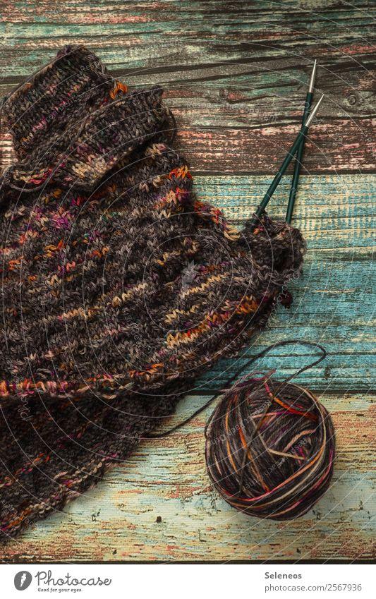 Pulloverzeit Erholung Wärme Freizeit & Hobby weich Wolle Handarbeit stricken Wollknäuel Strickmuster wollig Stricknadel Wolljacke