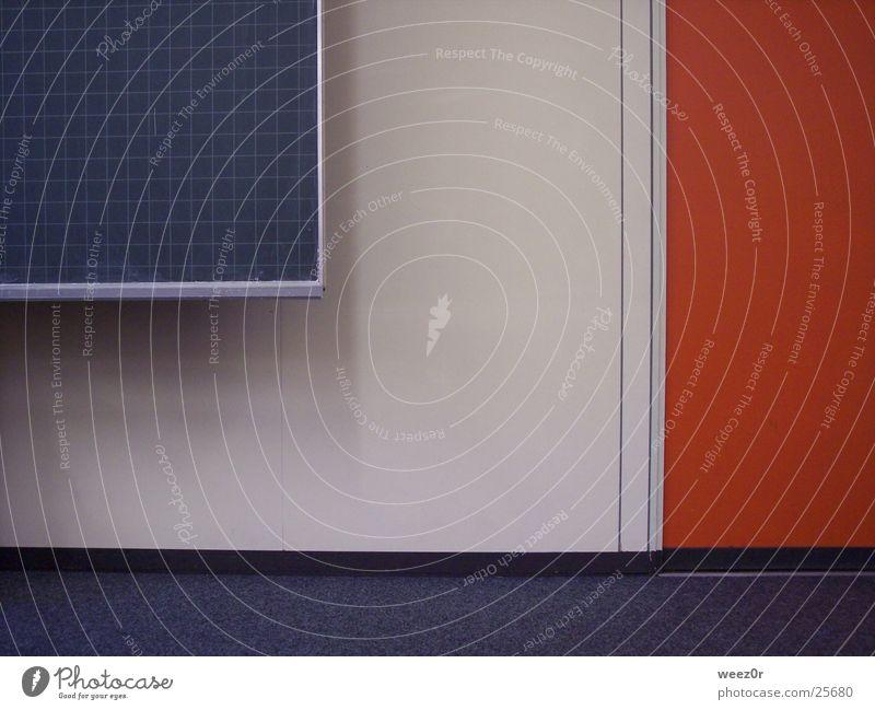 klassenzimmer Design Innenarchitektur Raum Klassenraum Bibliothek Architektur Mauer Wand Tür Tafel Schulunterricht Schule Schilder & Markierungen eckig