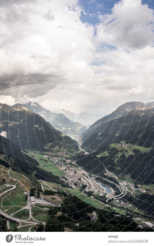 Gotthardpass II Himmel Natur Landschaft Berge u. Gebirge Herbst Umwelt natürlich Tourismus Wetter Klima Hügel Alpen Schweiz Pass Gotthardsberg