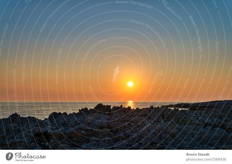 Sonnenuntergang Lifestyle schön Leben harmonisch Sinnesorgane Erholung ruhig Ferien & Urlaub & Reisen Tourismus Ferne Sommerurlaub Wellen Natur