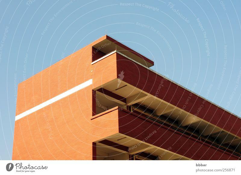 Dachdetails eines modernen Gebäudes Häusliches Leben Wohnung Hausbau Raum Klassenraum Umwelt Landschaft Himmel Wolkenloser Himmel Klima Wetter Schönes Wetter