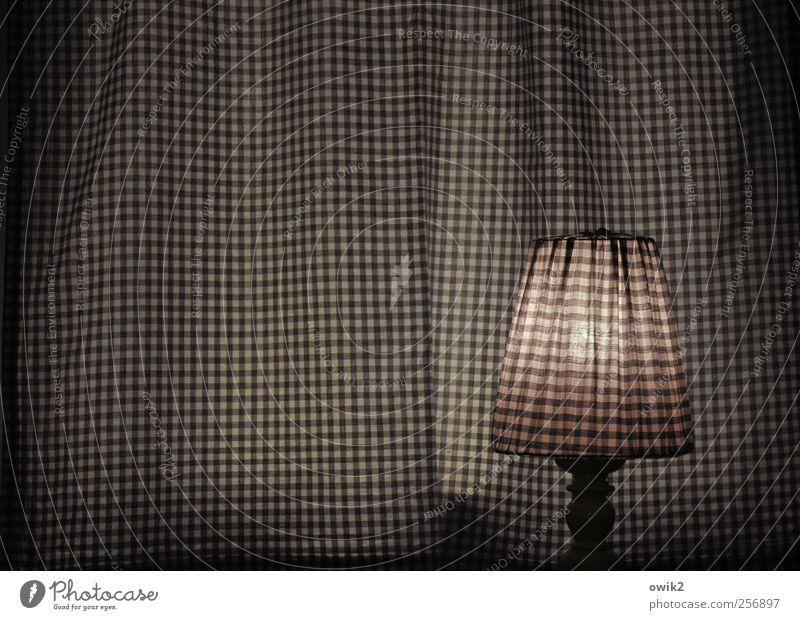 Sparzwang Häusliches Leben Innenarchitektur Dekoration & Verzierung Lampe Schlafzimmer Nachtlicht leuchten dunkel eckig einfach elegant einzigartig grau rosa