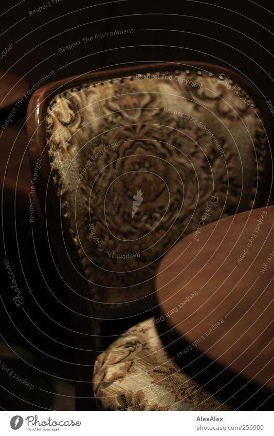 Sie werden platziert! alt Wärme Holz Stil braun Zufriedenheit elegant sitzen Tisch Stoff weich Gastronomie Reichtum Lounge altmodisch Gastfreundschaft
