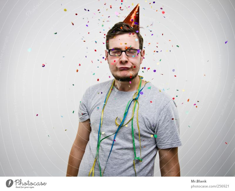 discodisco. Mensch Jugendliche Erwachsene grau Party Musik Feste & Feiern maskulin Coolness 18-30 Jahre Veranstaltung Entertainment Konfetti Nachtleben ausgehen